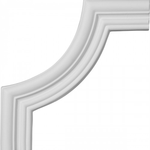 7 3/4W x 7 3/4H Swindon Panel Moulding Corner