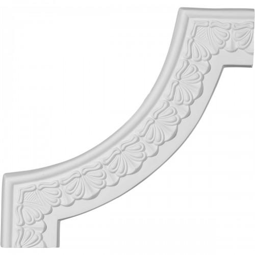 10 7/8W x 10 7/8H Acanthus Leaf Panel Moulding Corner