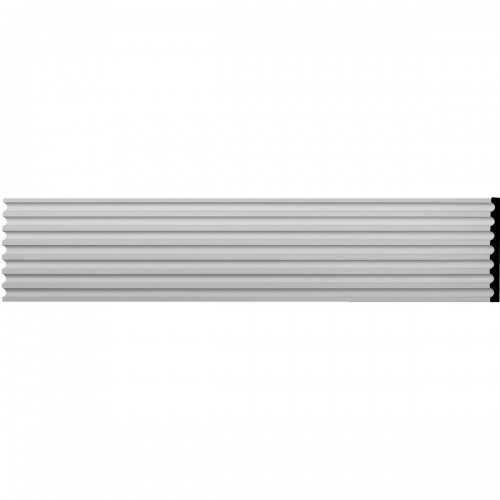 """17 3/4""""W x 94 1/2""""H x 1 1/2""""D Reeded Casing"""
