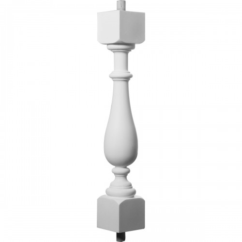 "Traditional Baluster - 5 7/8"" On Center Spacing to Pass 4"" Sphere Code"""