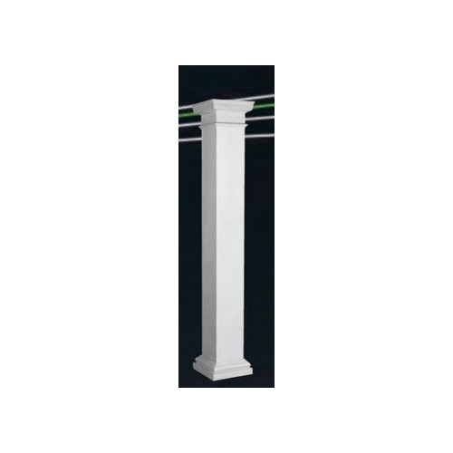 Endura-Lite Column Square Shaft (Fiberglass) Non-Tapered Smooth