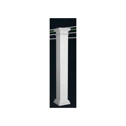 Endura-Lite Column Square Shaft (Fiberglass) Non-Tapered Smooth
