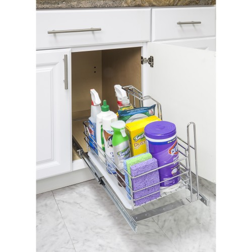 Single Cleaning Supply Caddy Pullout