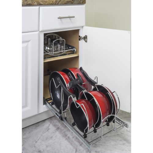 "Pots and Pan Orgainzer for 15"" Base Cabinet"