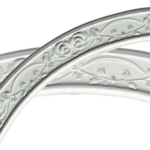 64OD x 57 1/2ID x 3 1/4W x 7/8P Rose Ceiling Ring (1/4 of complete circle)