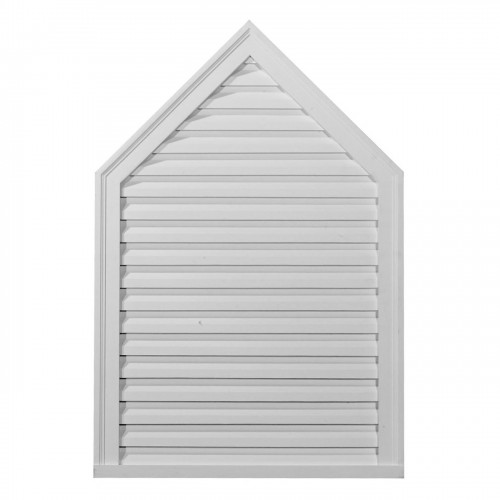 24W x 30H Peaked Gable Vent Louver Decorative