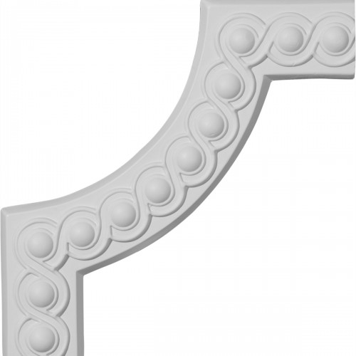 10 1/4W x 10 1/4H Foster Running Coin II Panel Moulding Corner