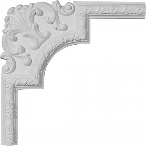 13 1/2W x 13 1/2H Kendall Panel Moulding Corner II