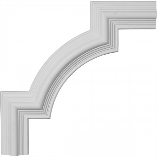 15 1/8W x 15 1/8H Bedford Panel Moulding Corner