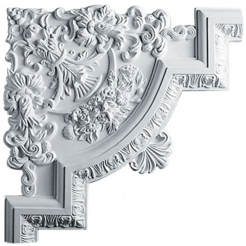15 3/4W  x 15 3/4H x 1 1/8P Emery Panel Moulding Corner