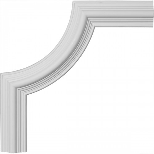 17 3/4W x 17 3/4H Bedford Panel Moulding Corner