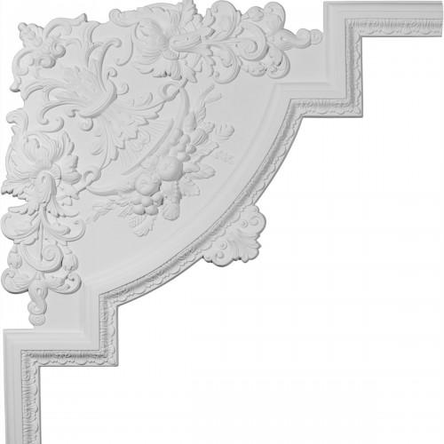 28W x 28H x 3/4P Loera Panel Moulding Corner
