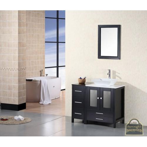 """Arlington 36"""" Single Sink Vanity Set in Espresso"""
