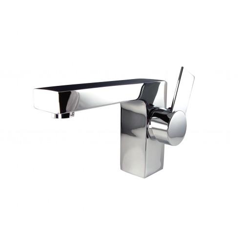 Fresca Isarus Single Hole Mount Bathroom Vanity Faucet - Chrome