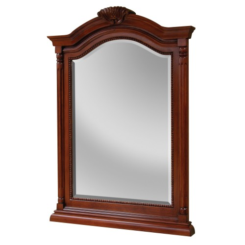 WINGATE RICH CHERRY BATHROOM MIRROR