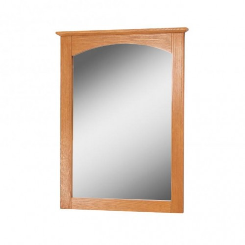 WORTHINGTON 21 INCH OAK BATHROOM MIRROR