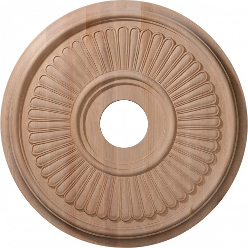 "Carved Berkshire Ceiling Medallion (Fits Canopies up to 6 1/2"")"