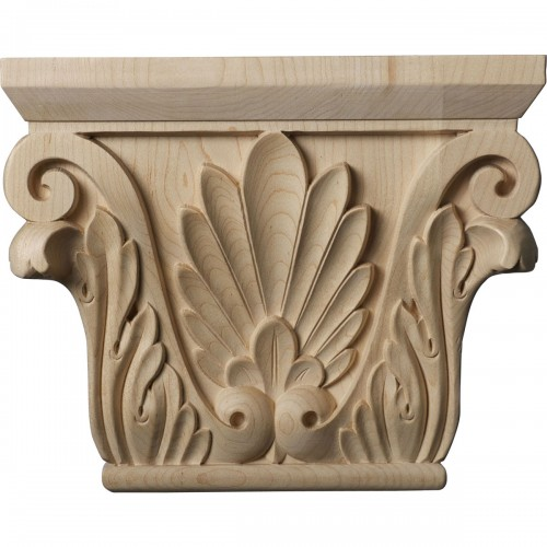 """Medium Chesterfield Capital (Fits Pilasters up to 5 5/8""""W x 1 3/8""""D)"""