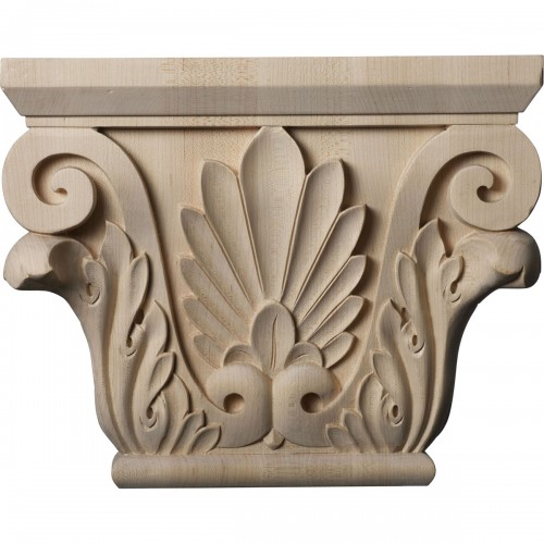 """Large Chesterfield Capital (Fits Pilasters up to 6 1/4""""W x 2""""D)"""