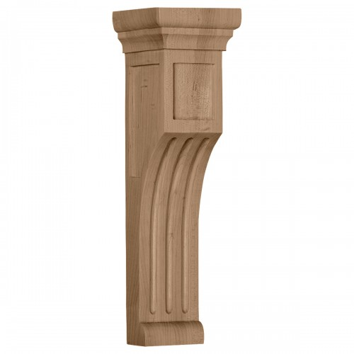 "4""W x 4""D x 14""H Recessed Groove Corbel"