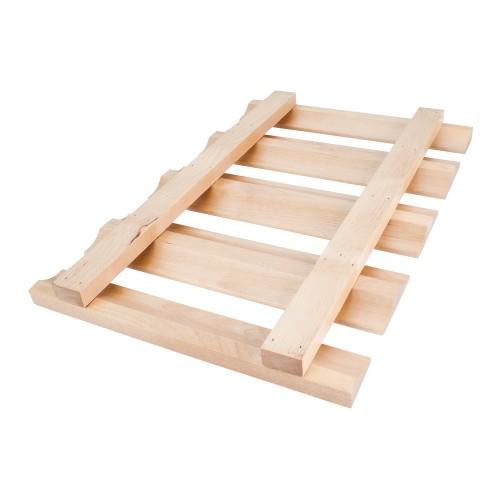 "36"" Stemware Rack Hard Maple"