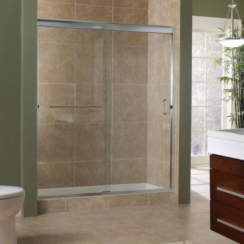 """MRSS9999-GC-SV 3/8"""" Frameless Sliding Shower Door"""
