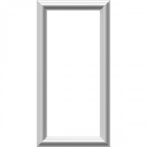 """12""""W x 24""""H x 1/2""""P Ashford Molded Classic Picture Frame Panel"""