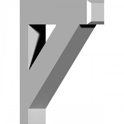 """4""""W x 16""""D x 20""""H Claremont Bracket"""