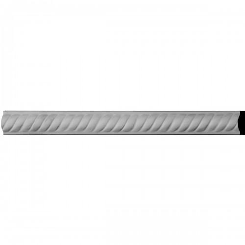 "1""H x 3/4""P x 94 1/2""L Alexandria Rope Panel Moulding"