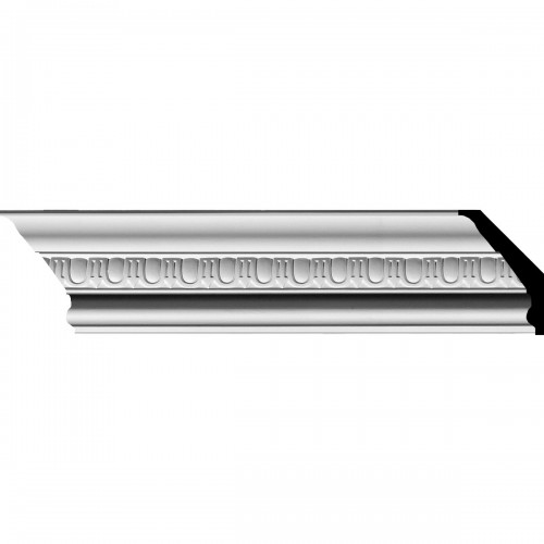 """5""""H x 3""""P x 5 7/8""""F x 94 5/8""""L Hampshire Traditional Crown Moulding"""