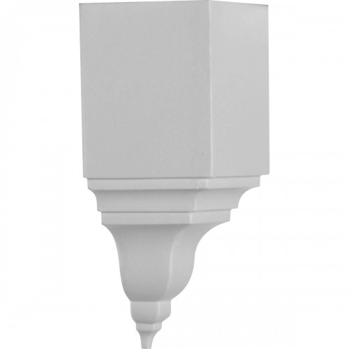 """3 1/8""""P x 7 3/4""""H, Inside Corner for Moulding Profiles Less than 3 1/8""""P and 3 7/8""""H"""