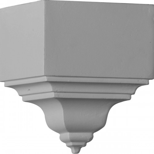 """3 1/8""""P x 7 3/4""""H, Outside Corner for Moulding Profiles Less than 3 1/8""""P and 3 7/8""""H"""