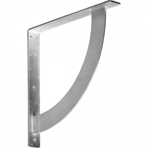 2W x 16D x 16H Bulwark Bracket Steel