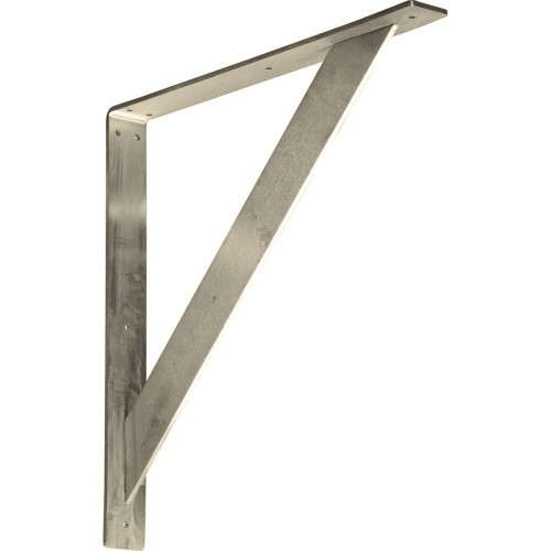 2W x 18D x 18H Traditional Bracket Stainless Steel