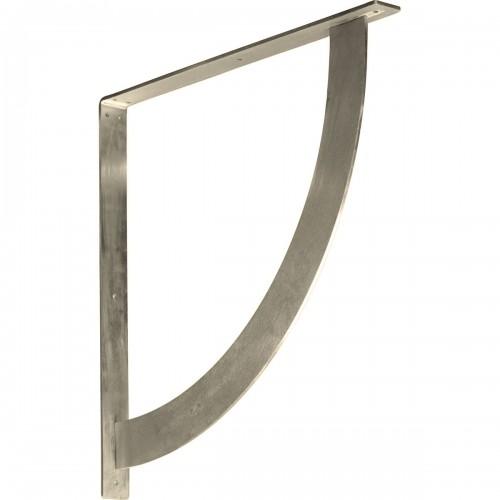2W x 24D x 24H Bulwark Bracket Stainless Steel