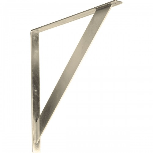 2W x 24D x 24H Traditional Bracket Stainless Steel
