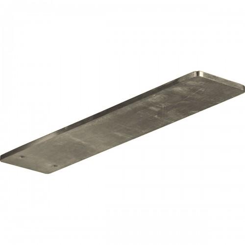 3W x 12D Logan Hidden Support Bracket with 8 Support Depth Stainless Steel