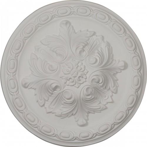 "11 3/8""OD x 2""P Acanthus Ceiling Medallion"