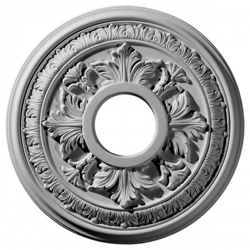 "15 3/8""OD x 4 1/4""ID x 1 1/2""P Baltimore Ceiling Medallion"