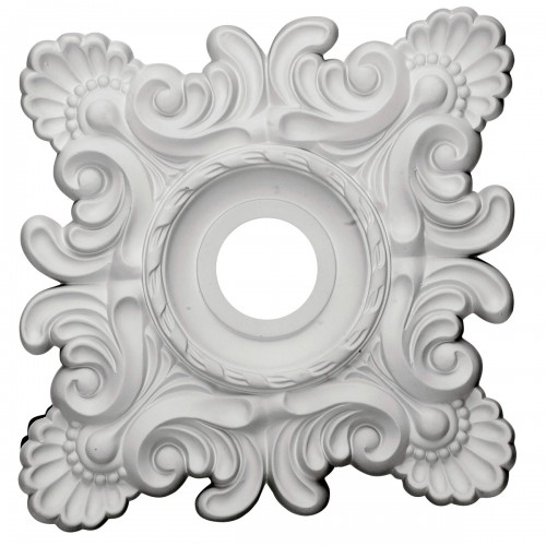 "18""W x 18""H x 3 1/4""ID x 1 1/2""P Crawley Ceiling Medallion"