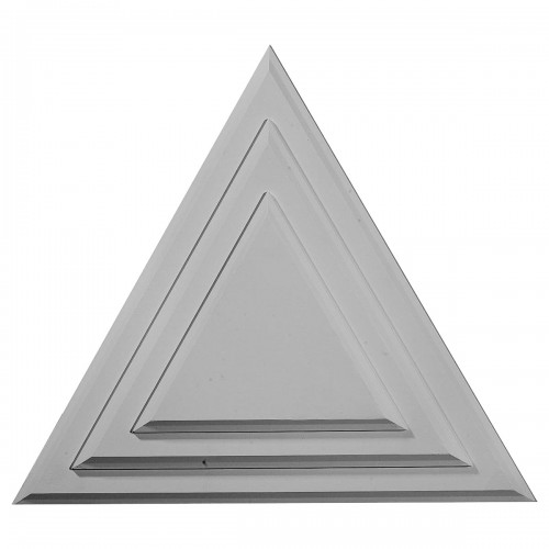 "19 1/4""W x 19 1/4""H x 1 1/8""P Triangle Ceiling Medallion"