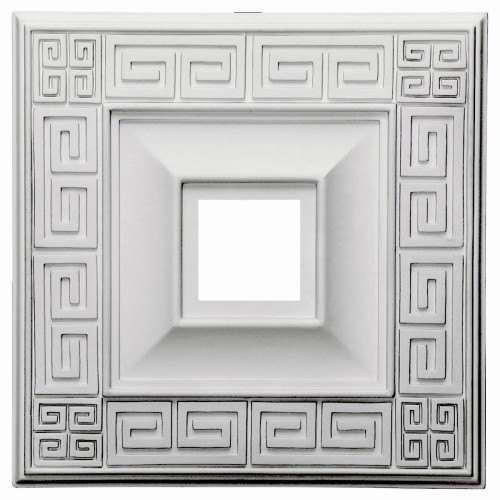 """18""""W x 18""""H x 3 1/2""""ID x 1 1/8""""P Eris Ceiling Medallion (Fits Canopies up to 5"""")"""