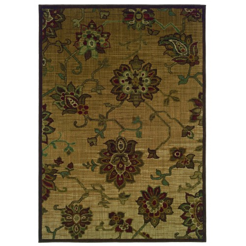 """ALLURE 054A1 1'11"""" X  3' 3"""" Area Rug"""