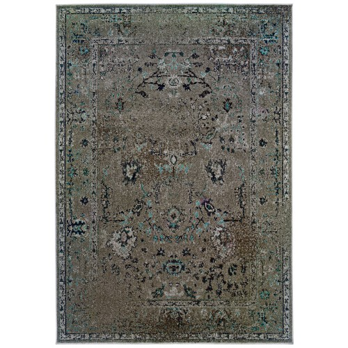 "REVIVAL 551Q2 1'10"" X  3' 3"" Area Rug"