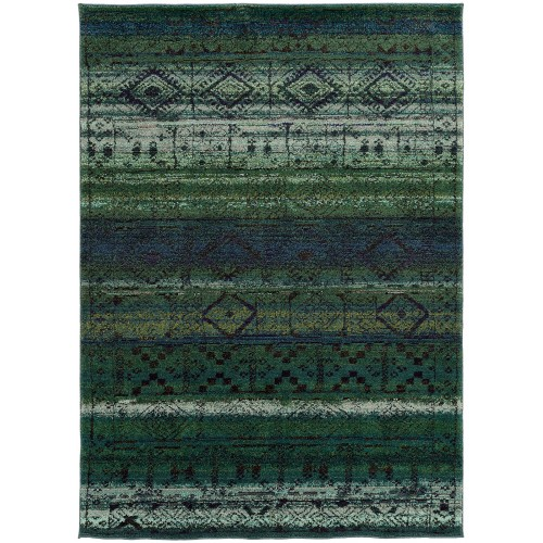 "NOMAD 8123G 2' 7"" X 10' 0"" Area Rug"