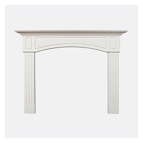 MTYORK-WHITE Fireplace Mantel