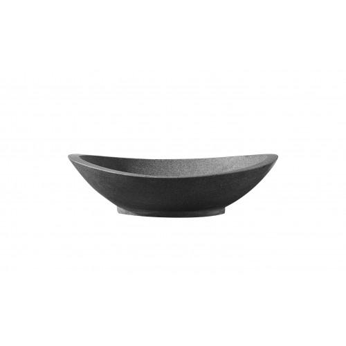 Virtu USA Bia Bathroom Vessel Sink in G654 Granite
