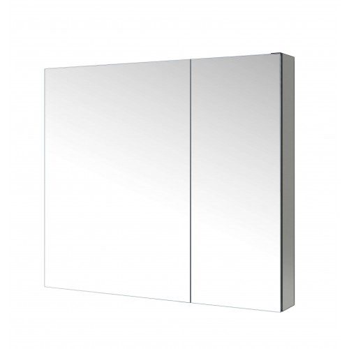 """Confiant 30""""  Mirrored Medicine Cabinet Recessed or Surface Mount"""