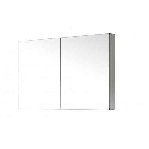 """Confiant 40""""  Mirrored Medicine Cabinet Recessed or Surface Mount"""