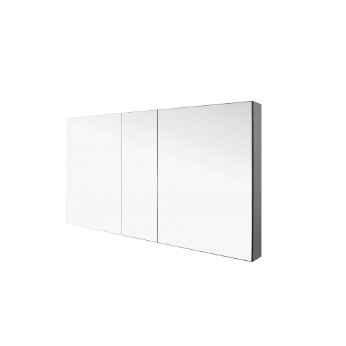 """Confiant 50""""  Mirrored Medicine Cabinet Recessed or Surface Mount"""
